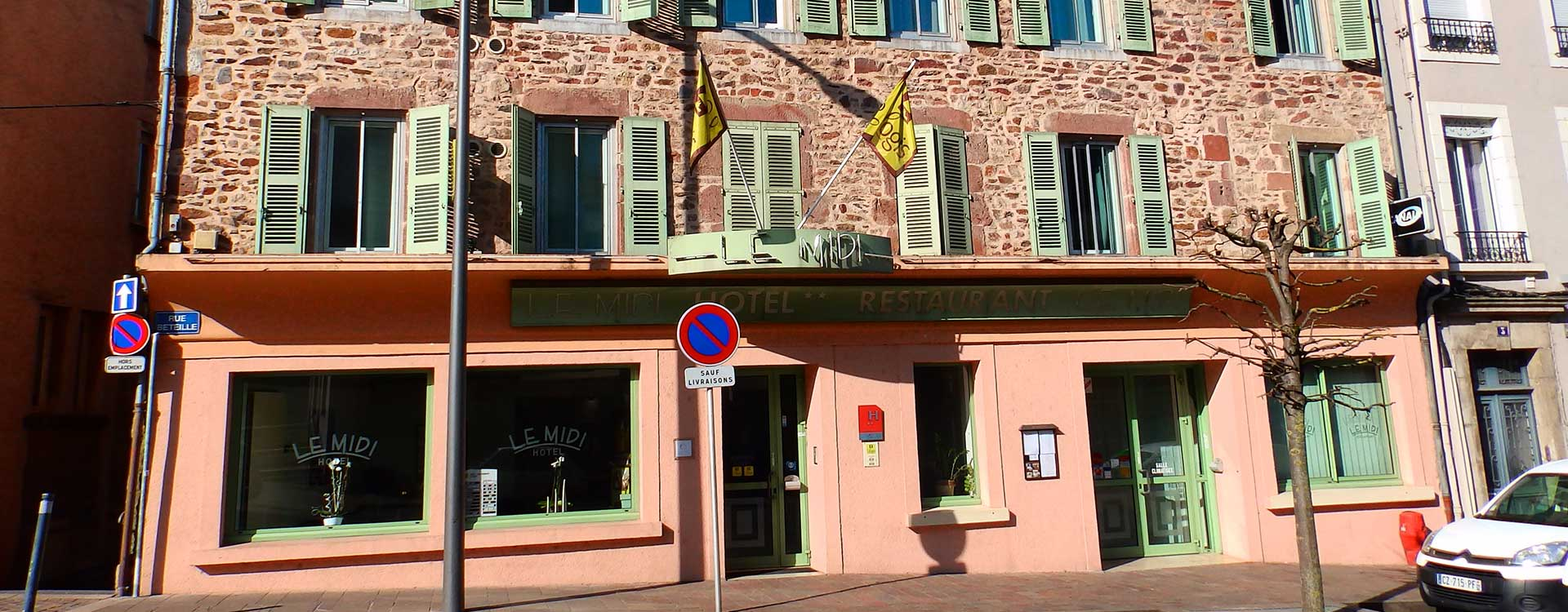 Contact hotel du midi rodez for Contact hotel
